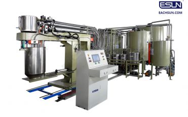 Series Automatic Batch Foaming Production Line